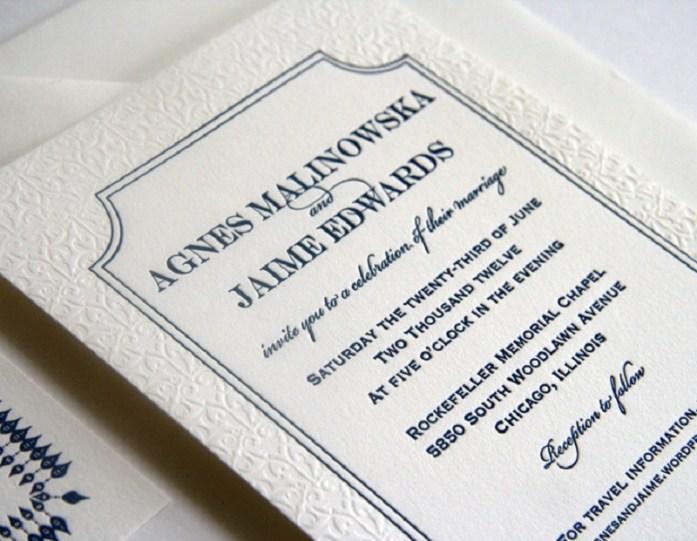 Wedding venue addressing etiquette
