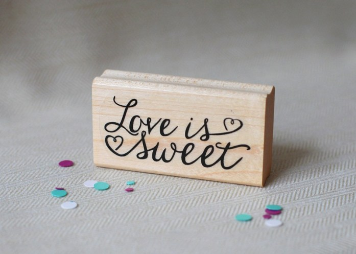 Quote wedding stamp
