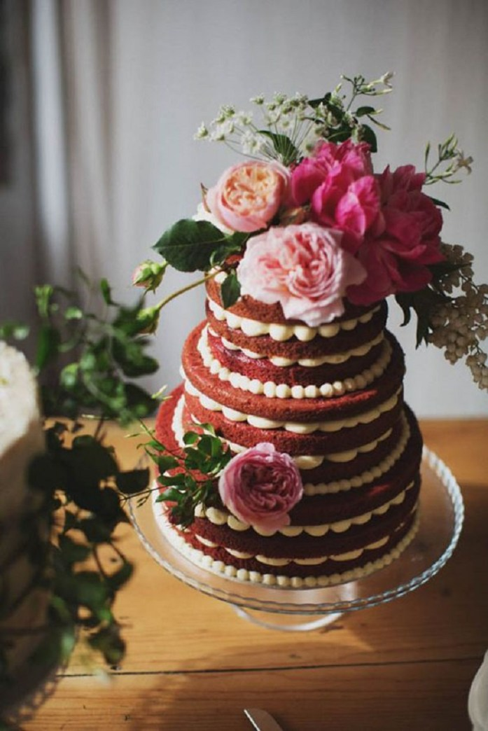 velvet-wedding-cake ideas