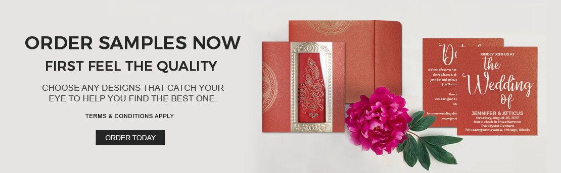Order Free Samples - IndianWeddingCards