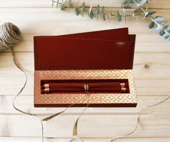 Box Wedding Invitations - IndianWeddingCards
