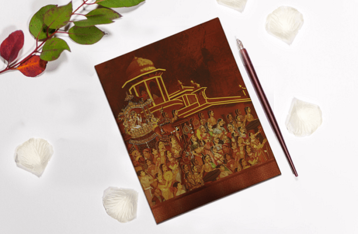 Designer wedding invitations CD-1835
