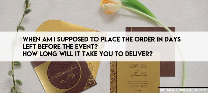 Questions You Should Ask Your Wedding Stationery Designer or Vendor