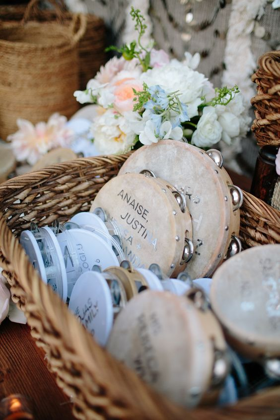 Tap Your Musical Beat - Wedding Favors - IndianWeddingCards