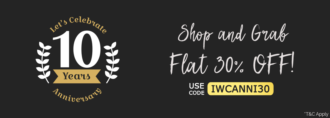 Anniversary Sale Flat 30% Off-IndianWeddingCards