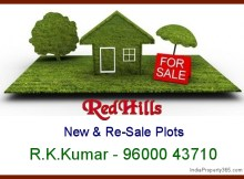 Re-Sale Plots for Sale in RedHills