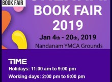 Chennai Book Fair 2019