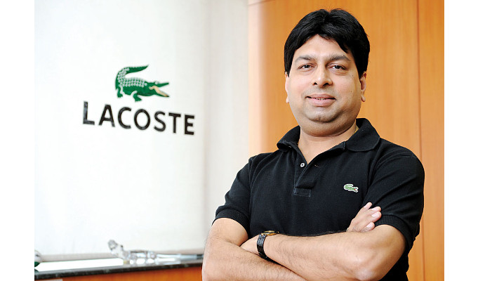 Rajesh Jain, Managing Director and CEO, Lacoste India