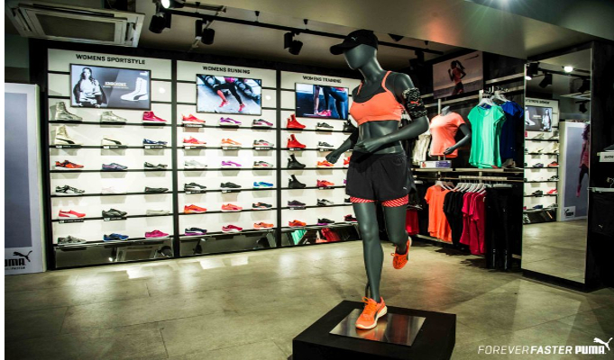 Puma launches the first ever sustainable store in Bangalore, India challenging the status quo and improving the retail experience for its customers.
