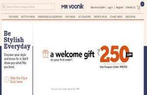 Mr Voonik to solve shopping problems for men