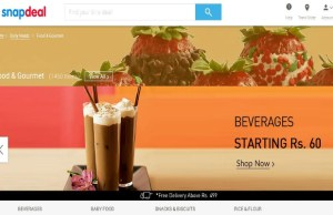 Snapdeal forays into FMCG market