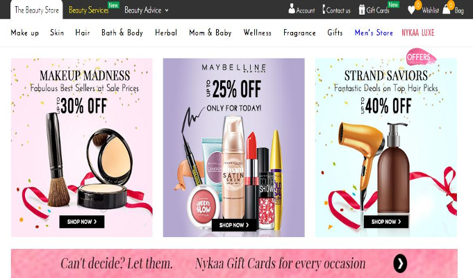 Online retailer Nykaa.com to raise Rs 60-100 cr
