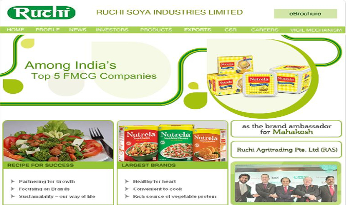 Ruchi Soya sells stake in joint venture firm for Rs 63 crore