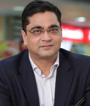 Rajneesh Mahajan, Executive Director, Inorbit Malls India Pvt. Ltd.
