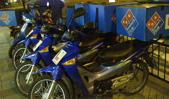 Domino's Pizza goes cashless for home deliveries