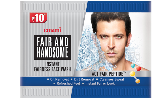 Emami Fair and Handsome pioneers packaging innovation for men's face wash