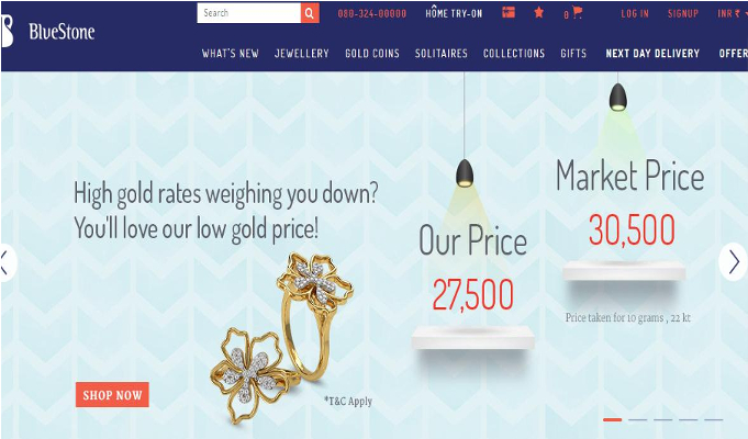 BlueStone.com tops up treasure chest; raises Rs 200 crore