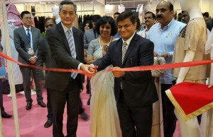 India Pavilion inaugurated at the 23rd Hong Kong Fashion Week for Spring/Summer