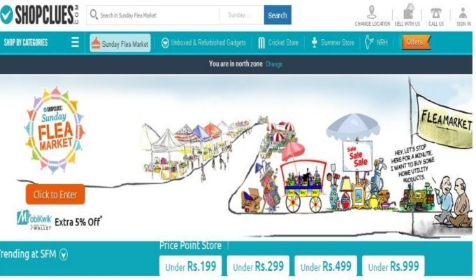 Shopclues refutes talks with Flipkart for a merger