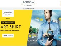 Arrow unveils Smart Shirt for office-goers