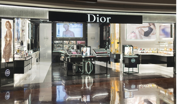 Christian Dior Fragrances and Beauty boutique launched in India