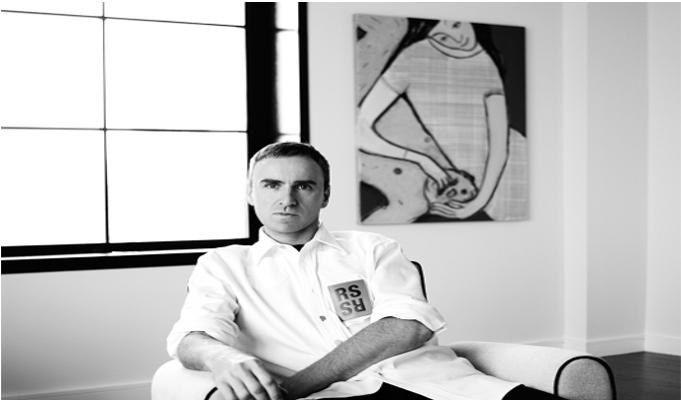 Calvin Klein names Raf Simons as Global Chief Creative Officer