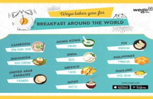 Wego introduces breakfast menu; includes global dishes