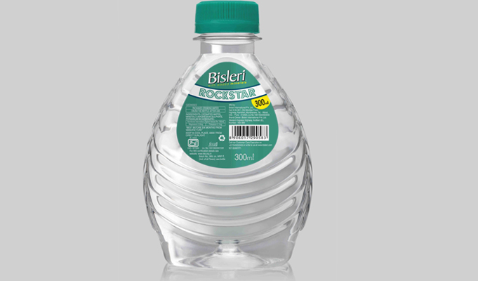 Bisleri launches 'Rockstar' bottled water