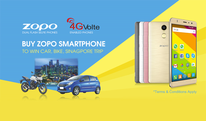 Smartphone maker Zopo announces 'Looton' month contest