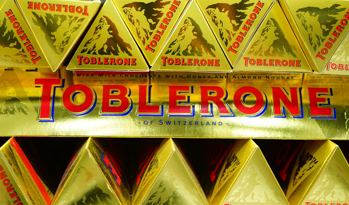 Toblerone Swiss chocolate shrinks in a bid to keep prices low