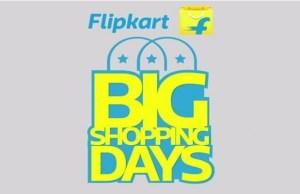 Flipkart announces holiday season sale 'Big Shopping Days'