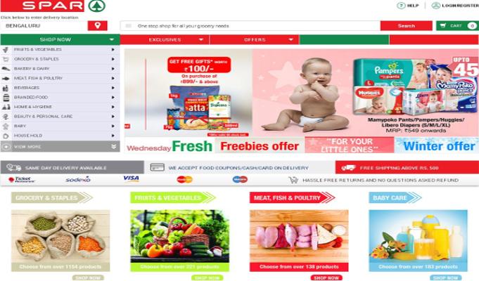 How Spar Hypermarket unravels its omnichannel journey