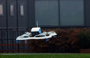 Amazon considering flying warehouses for drone deliveries