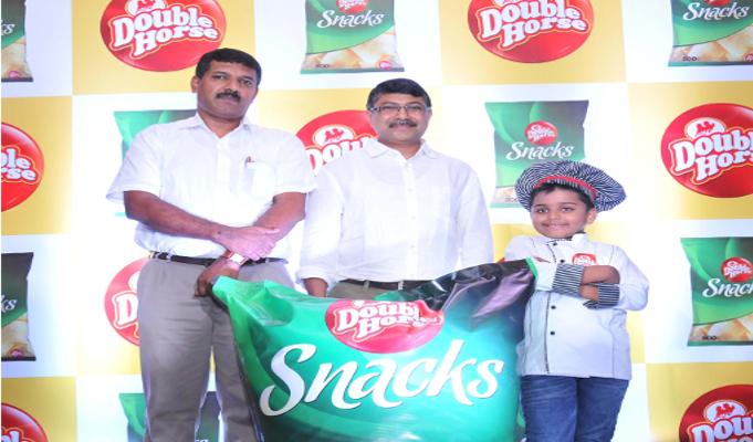 Manjilas ropes in Master Chef Kicha as brand ambassador for its Double Horse snacks