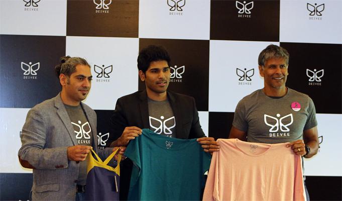 Milind Soman unveils active lifestyle brand for women, Deivee