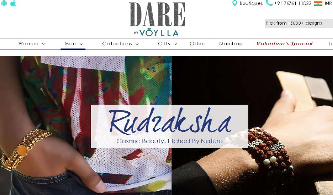 Voylla disrupts segment, launches jewellery exclusively for men