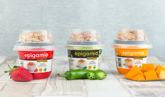 Epigamia introduces snack pack in 4 exciting flavours