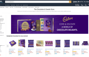 Mondelez India partners with Amazon.in to launch first virtual chocolate and sweet store