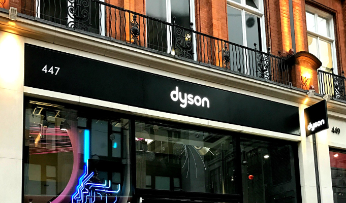 UK-based Dyson to set up 20 stores in India