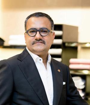 Salesh Grover, Business Head, OSL Luxury Collections Pvt. Ltd (Corneliani)