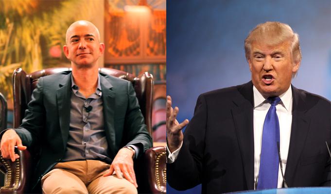 Trump accuses Amazon of harming retailers across US