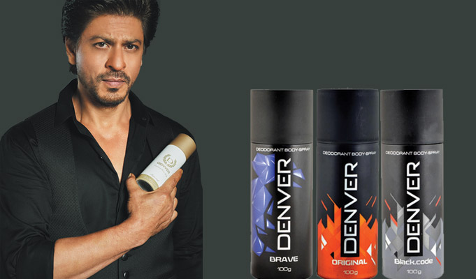 Shah Rukh Khan to endorse deodorant brand, Denver