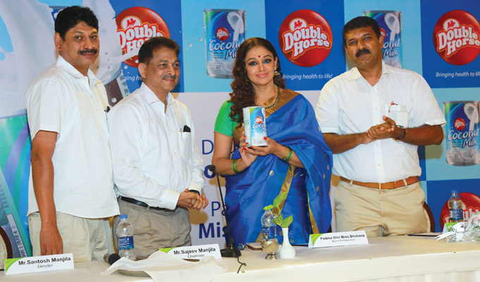 Manjilas Double Horse introduces coconut milk