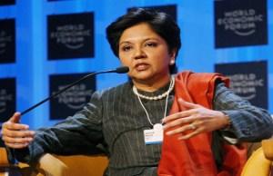Indra Nooyi on Fortune most powerful biz women list