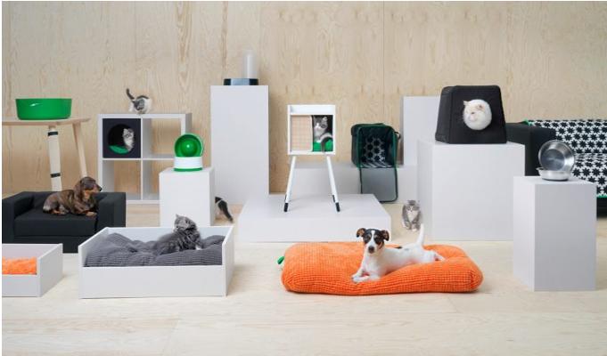 IKEA introduces furniture range for pets