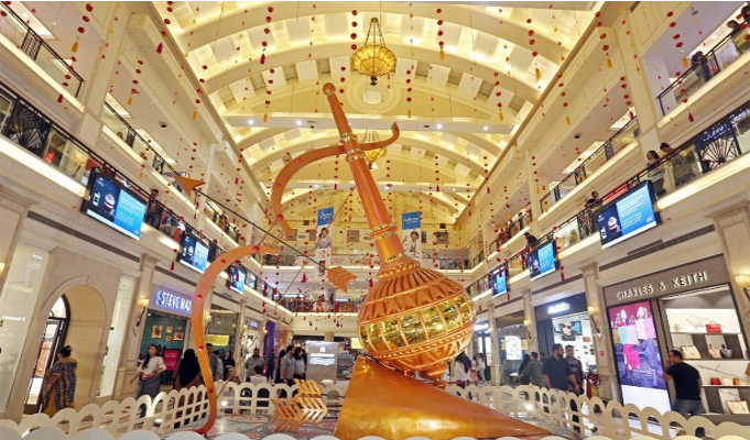 Diwali festivities across DLF shopping malls