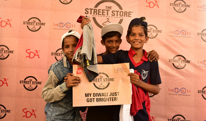 Infiniti Mall's Latest CSR Initiative: Clothes drive for the needy