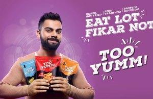 Guiltfree Industries signs Virat Kohli as brand ambassador for Too Yumm!