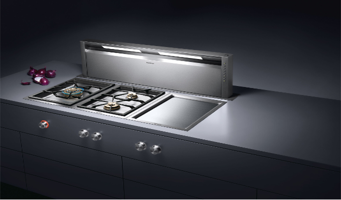 Bsh household appliances launches luxury brand gaggenau in for Luxury stove brands