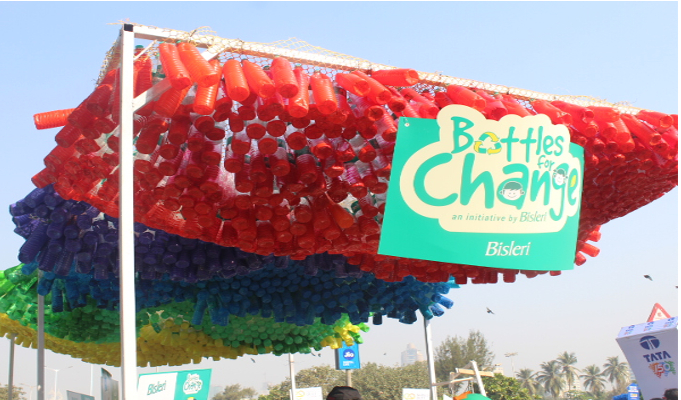 CSR Initiative: Bisleri spreads awareness about correct disposal, reuse and recycling of bottles